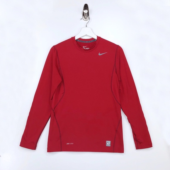 Nike Other - NIKE DRI FIT  Fitted Long Sleeve Shirt Size Small